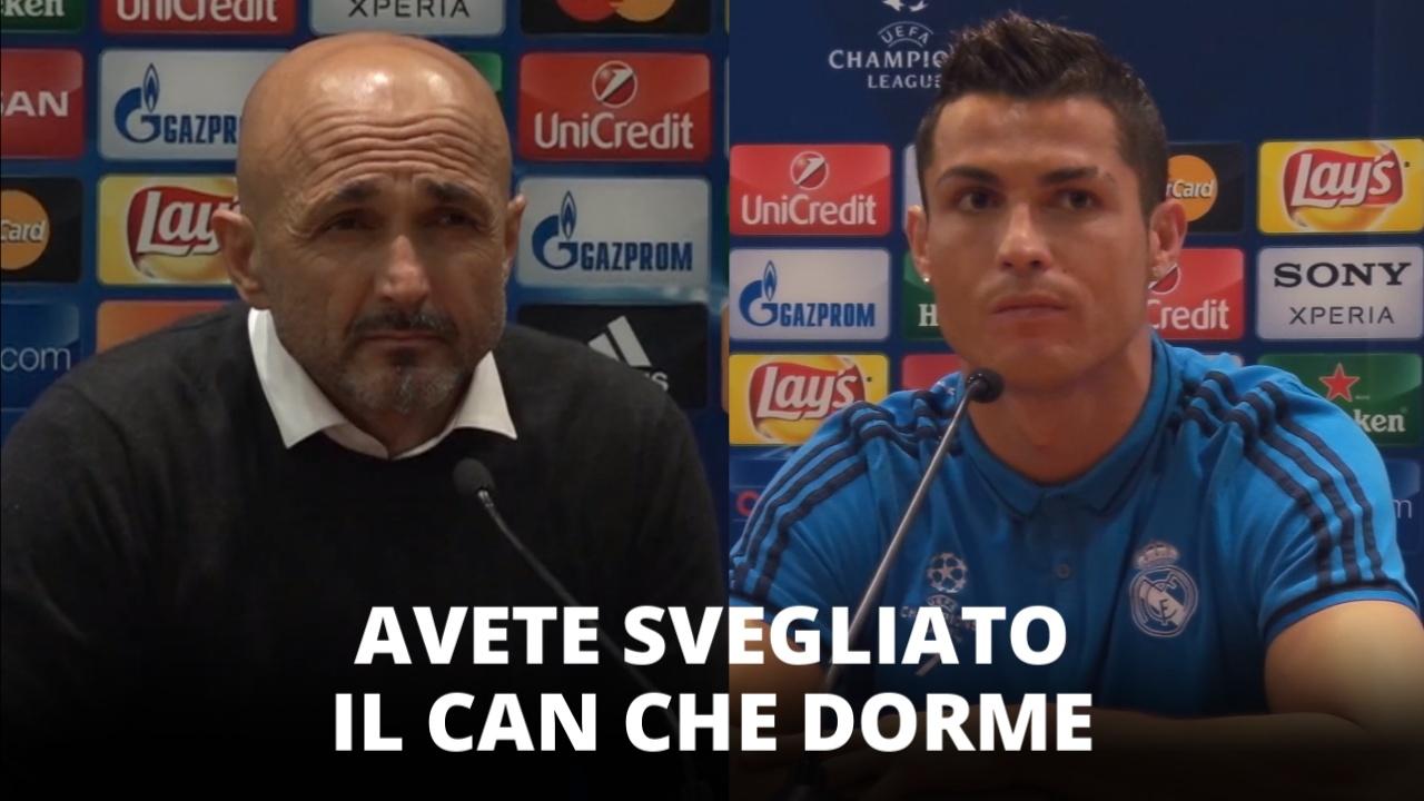 Spalletti deluso e Ronaldo si vendica dei giornalisti