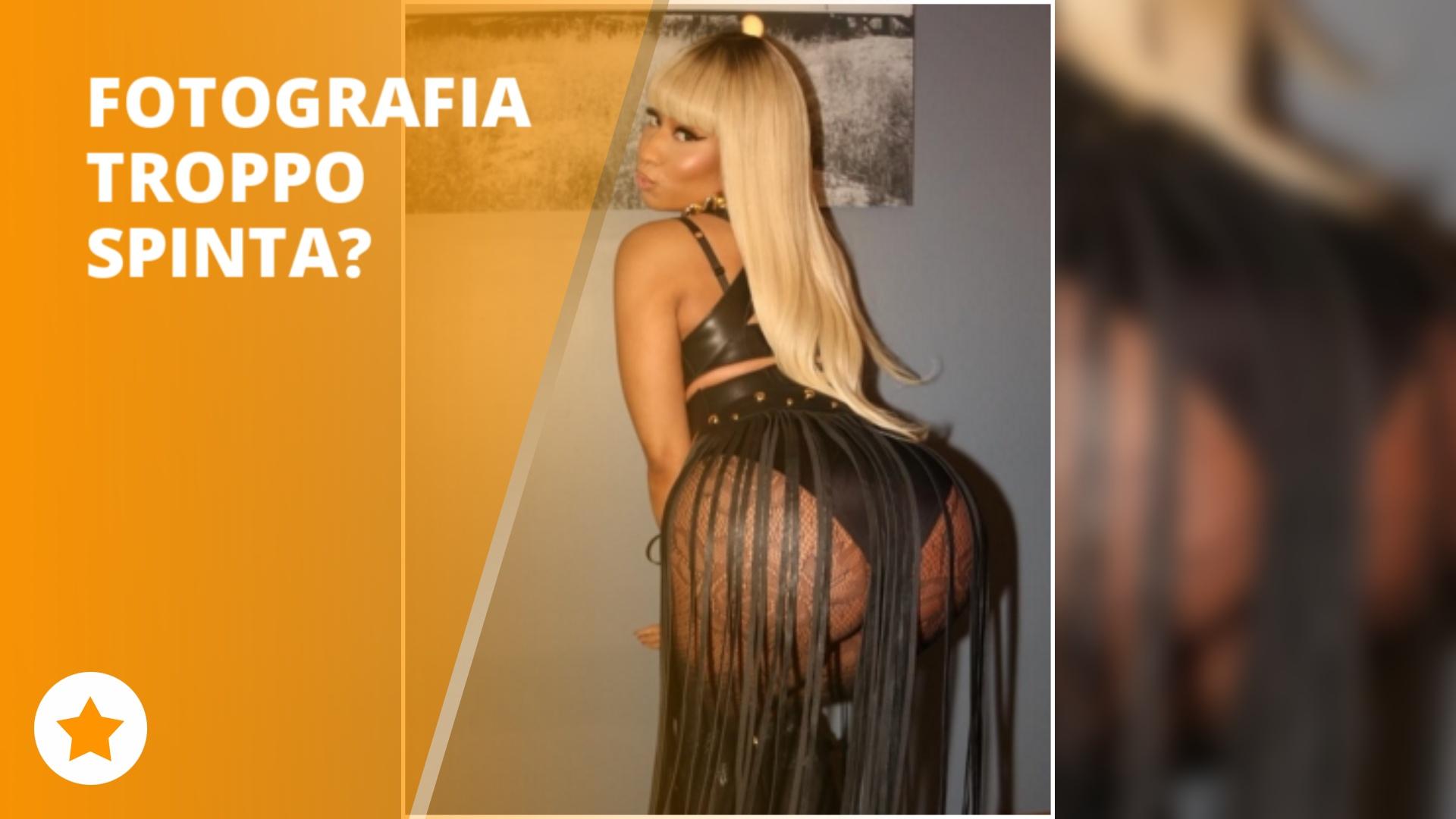 La discussione sul lato B di Nicki infiamma il web