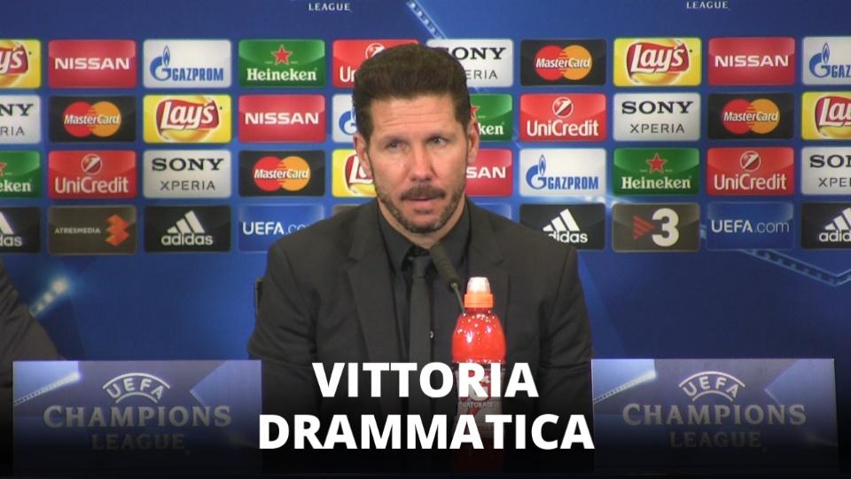 L'Atletico Madrid prosegue, 'non smettiamo di crederci'