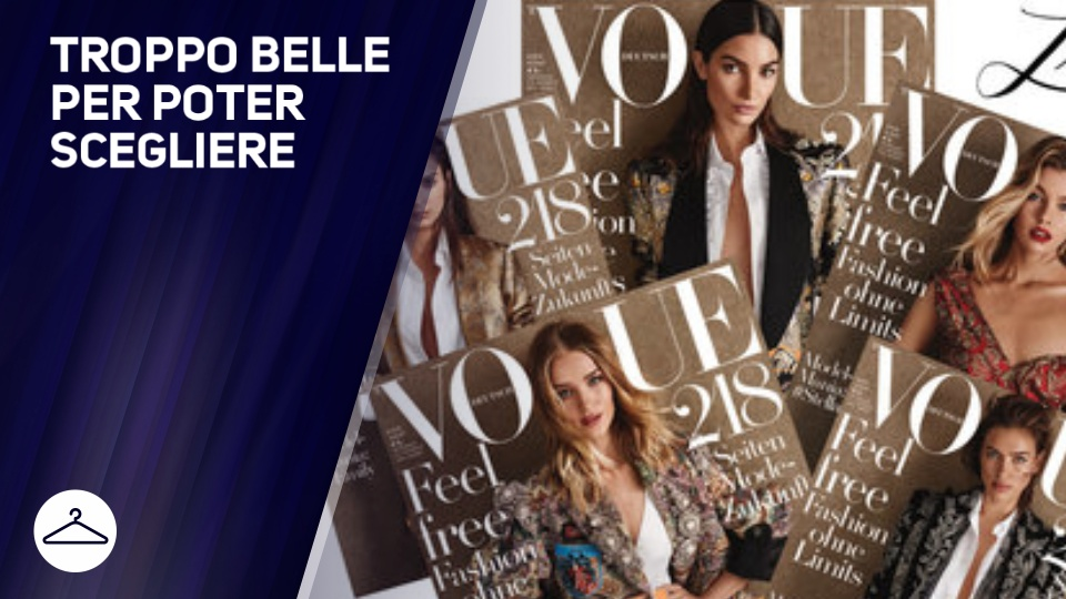 Vogue Germania e' stato invaso dalle top model