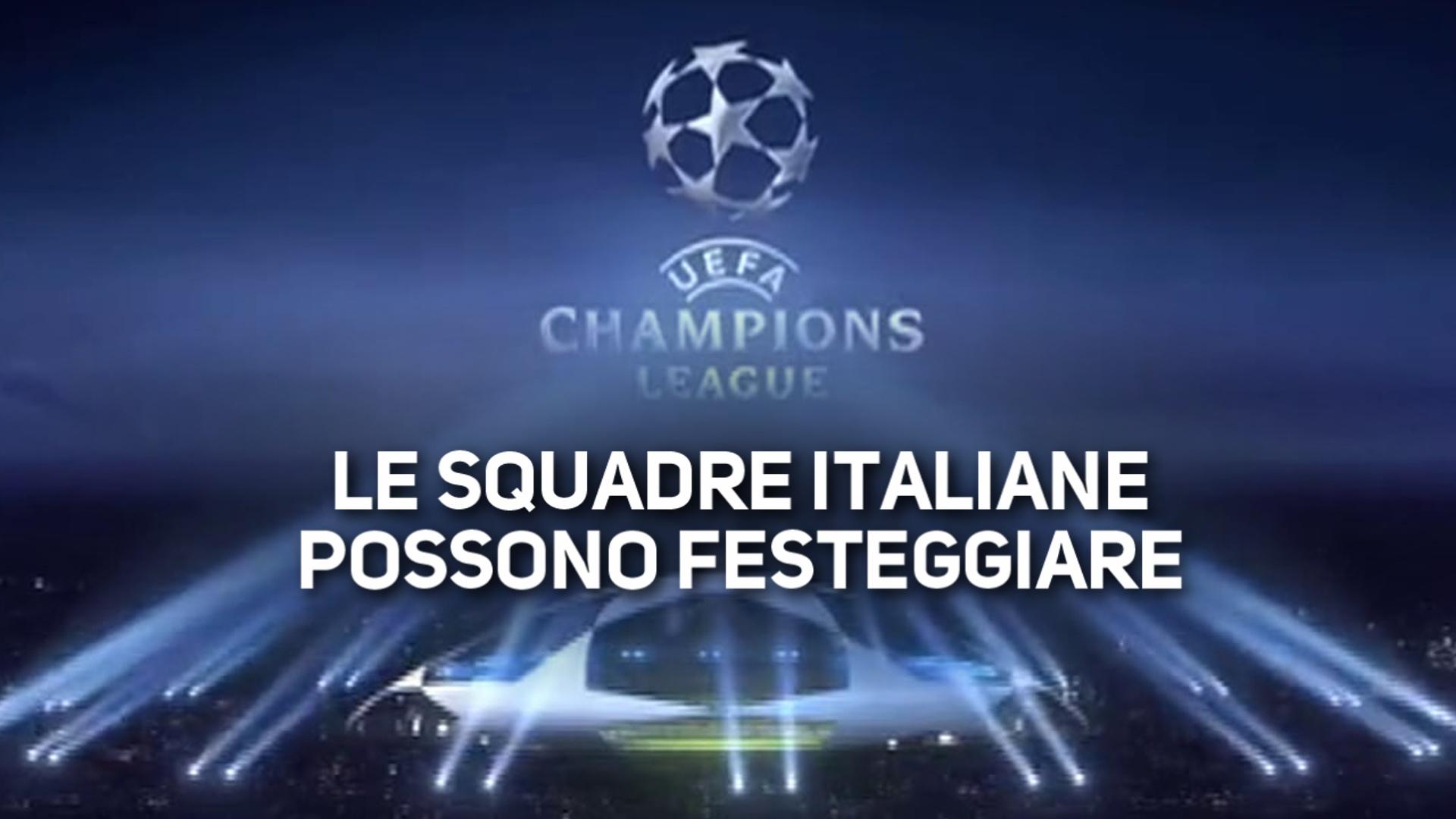 La nuova Champions League sorride all'Italia