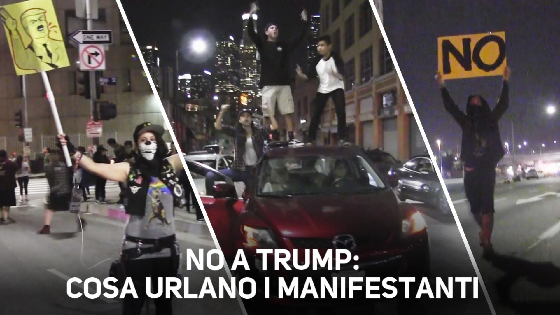 No a Trump: in migliaia in protesta in tutti gli States