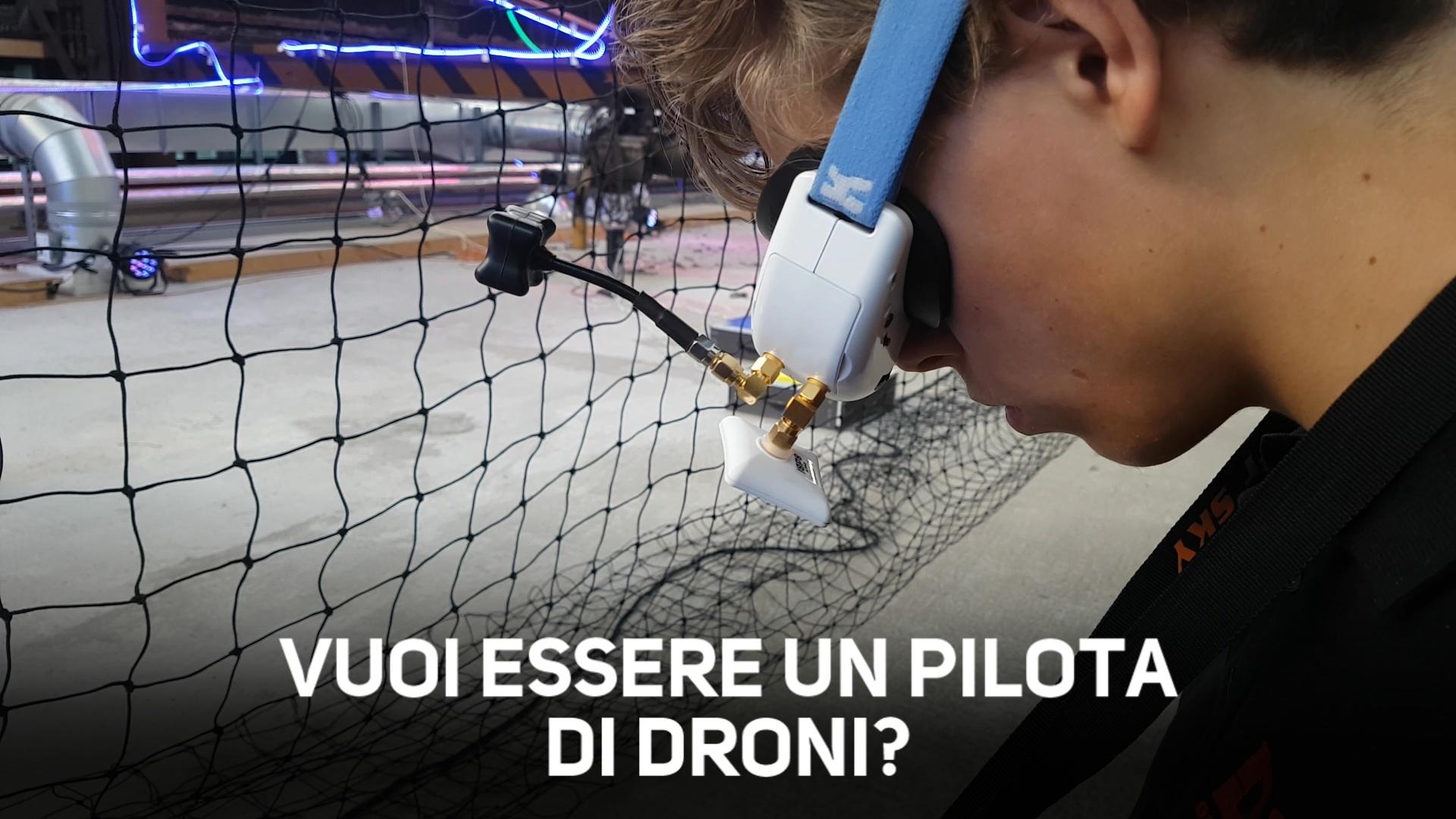 Come diventare pilota di droni in 5 semplici mosse