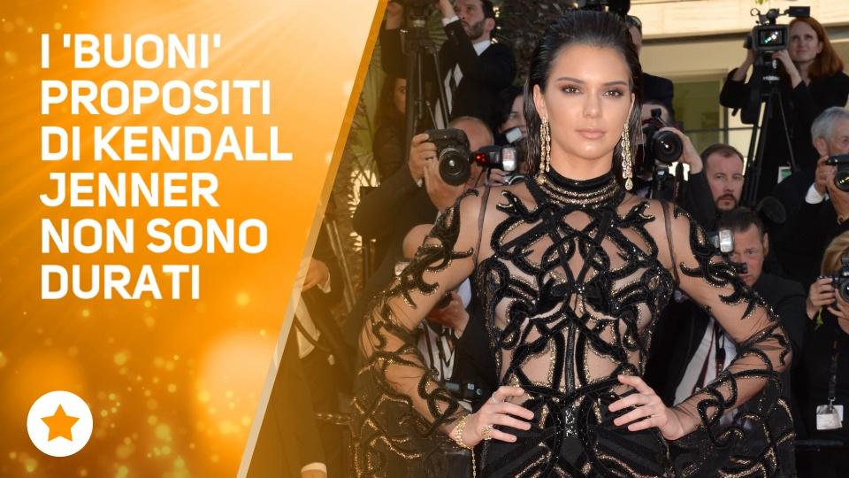 Kendall Jenner torna su Instagram, ma con una novita'
