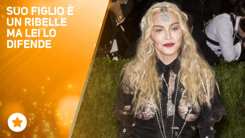 Arrestato il figlio di Madonna
