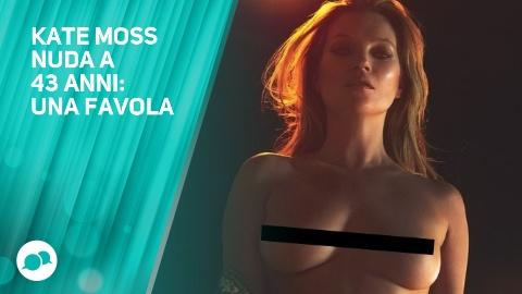 Il nudo integrale di Kate Moss e' gia' virale