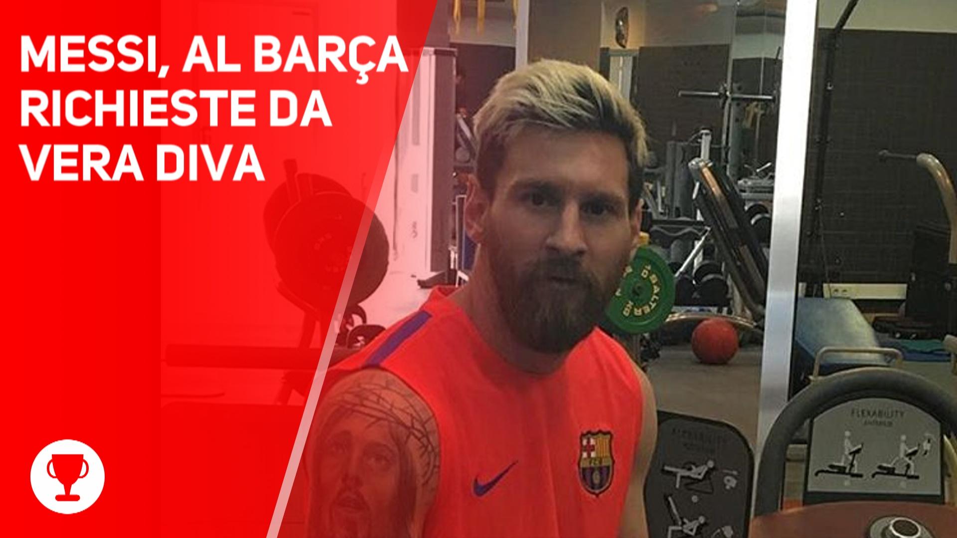 Messi, per restare al Barcelona vuole...