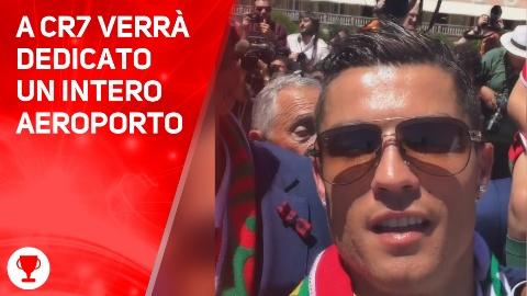 Benvenuti all'aeroporto Cristiano Ronaldo