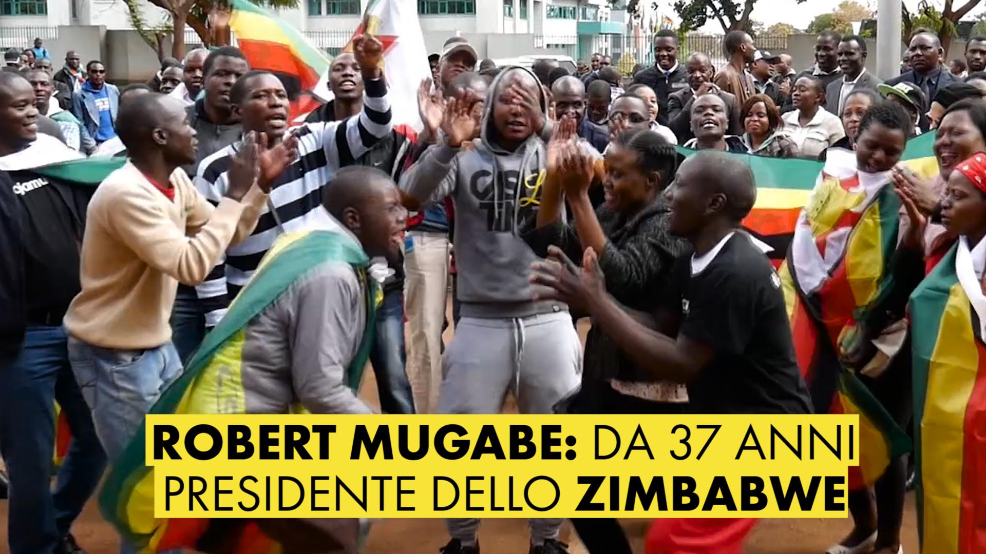 Zimbabwe: il suo e' il presidente pie' anziano del mondo