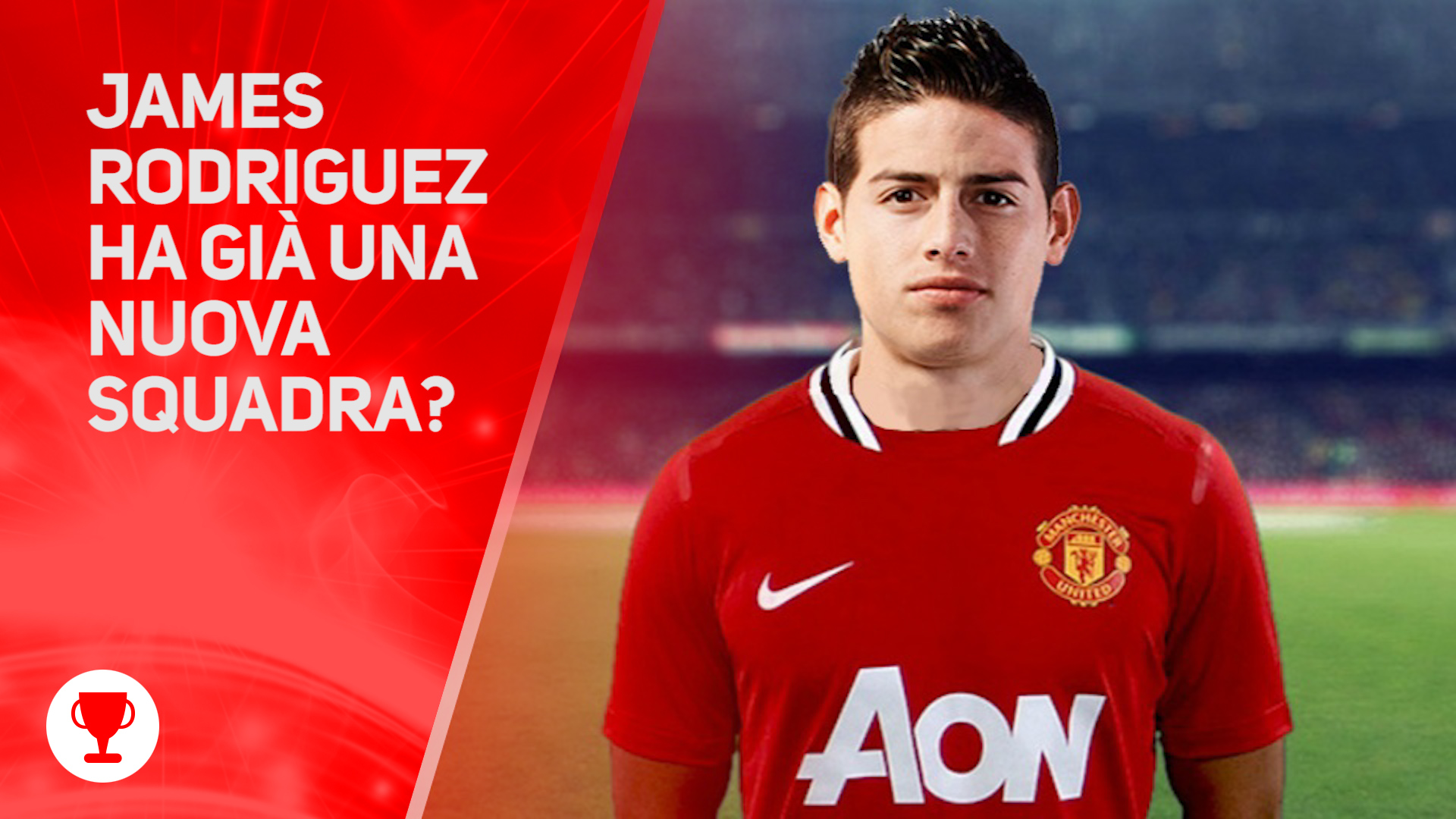 James Rodriguez e' gia' del Manchester United?