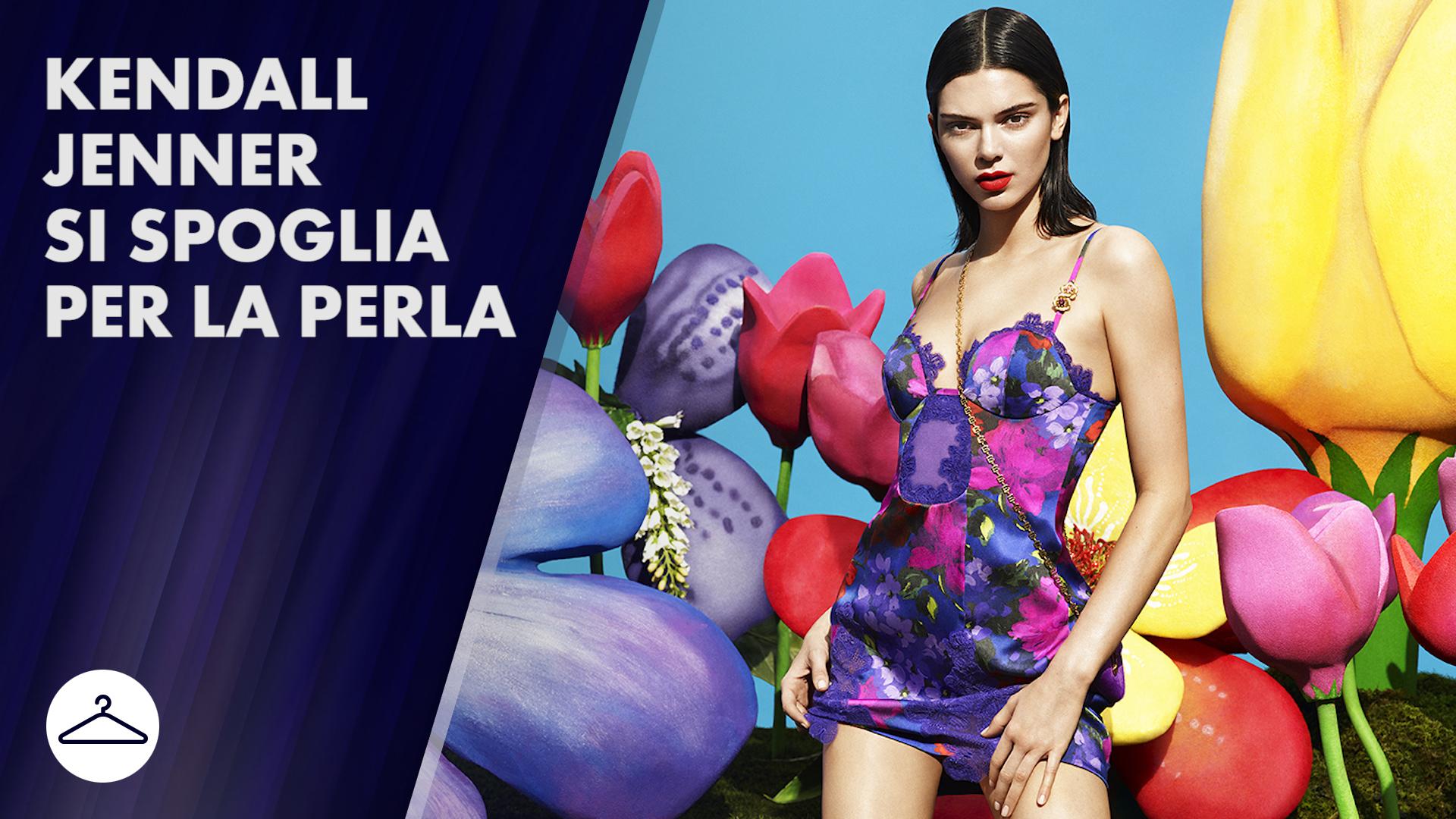 Kendall Jenner super sexy per La Perla