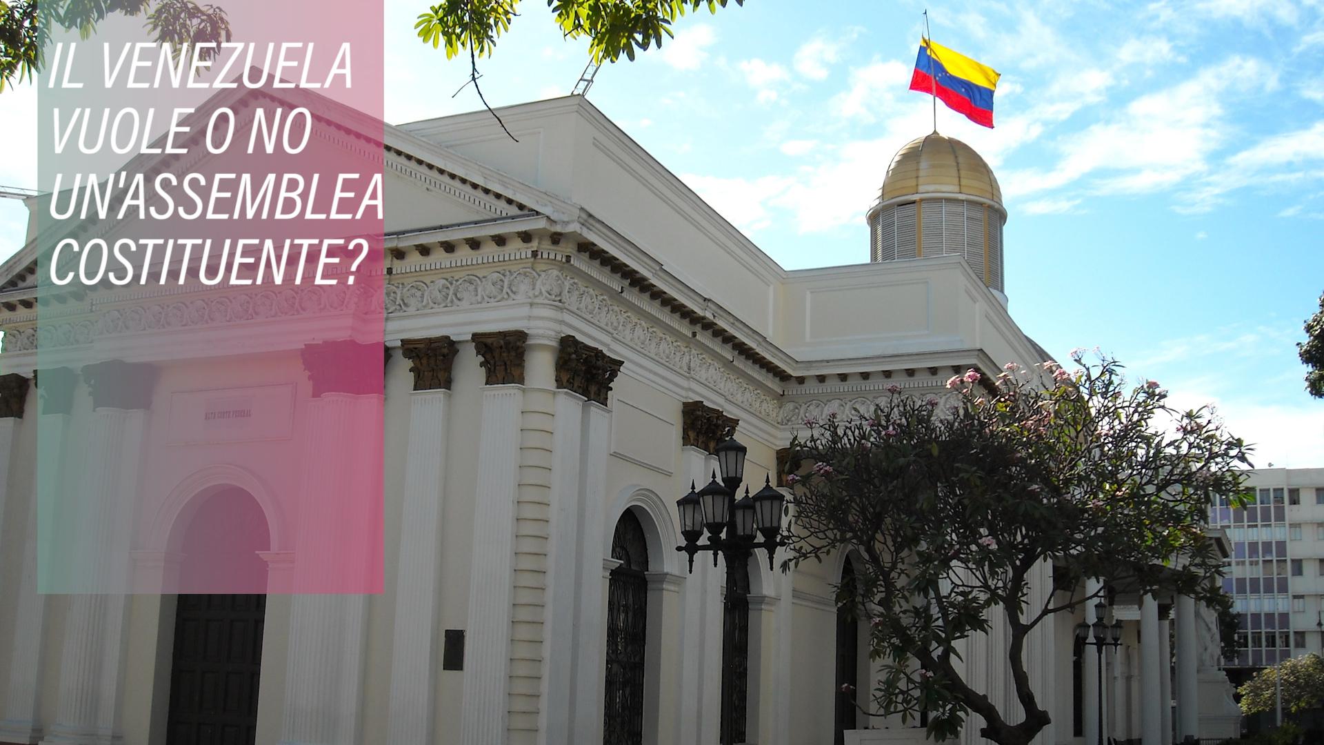 Cosa sapere sull'assemblea costituente venezuelana