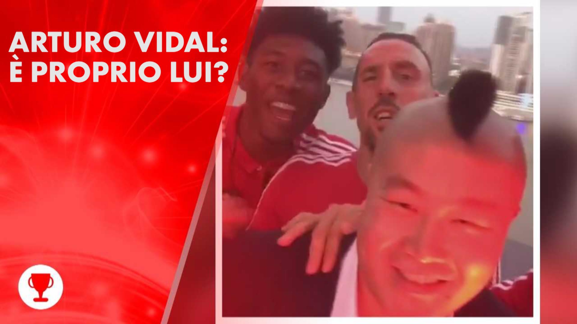Ma Vidal e' o no in Cina col Bayern?