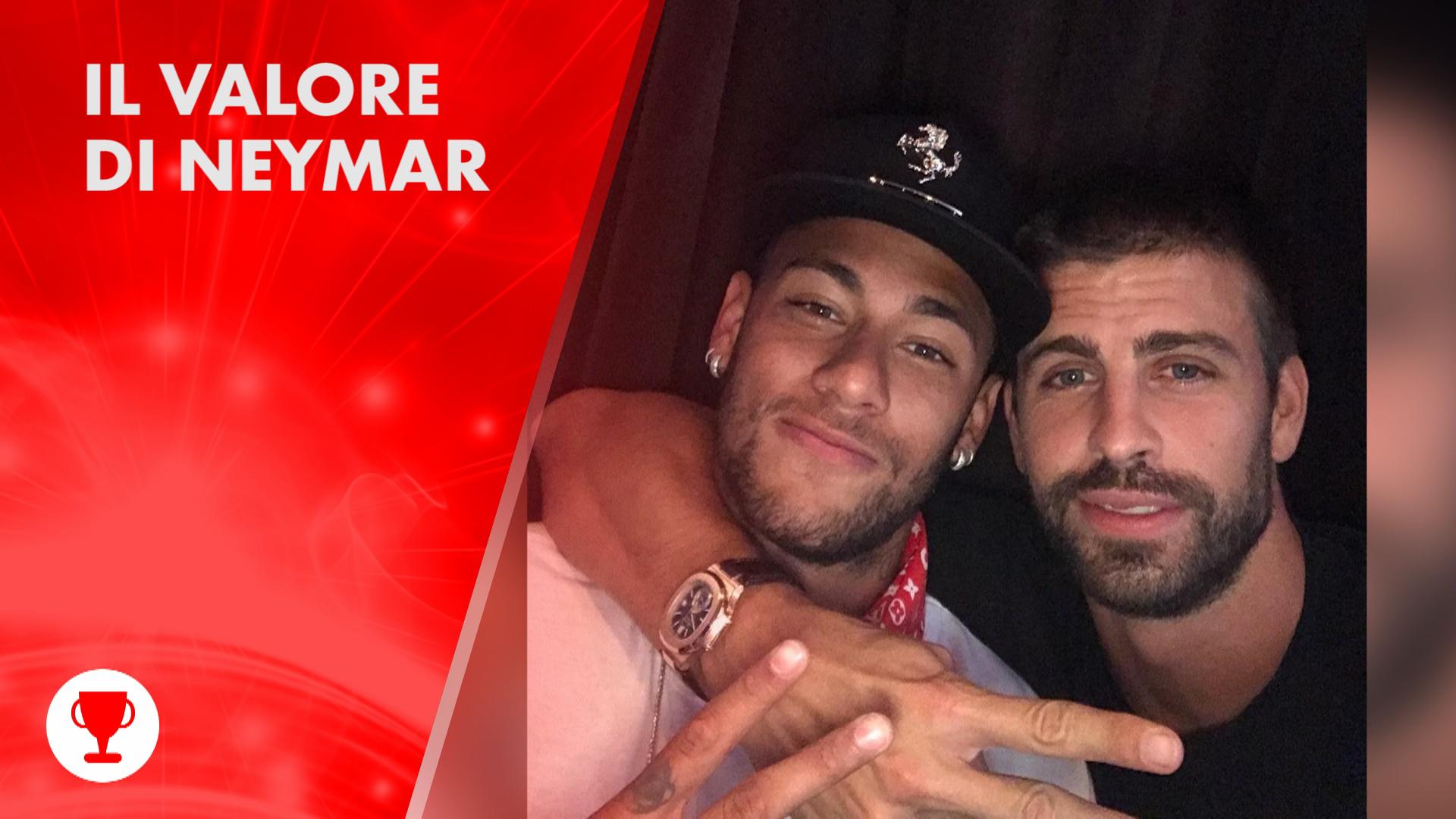 Neymar vale pie' di... 11 squadre!